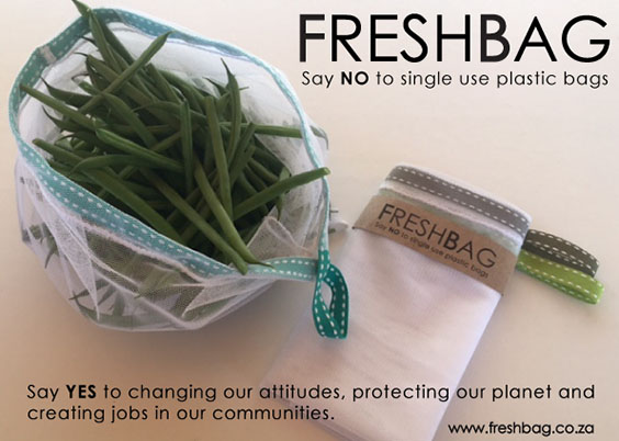 FreshBag - Say NO to single use plastic bags. Say YES to changing our attitudes, protecting our planet and creating jobs in our communities